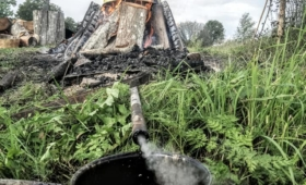Tökati põletamine Maalasti külas