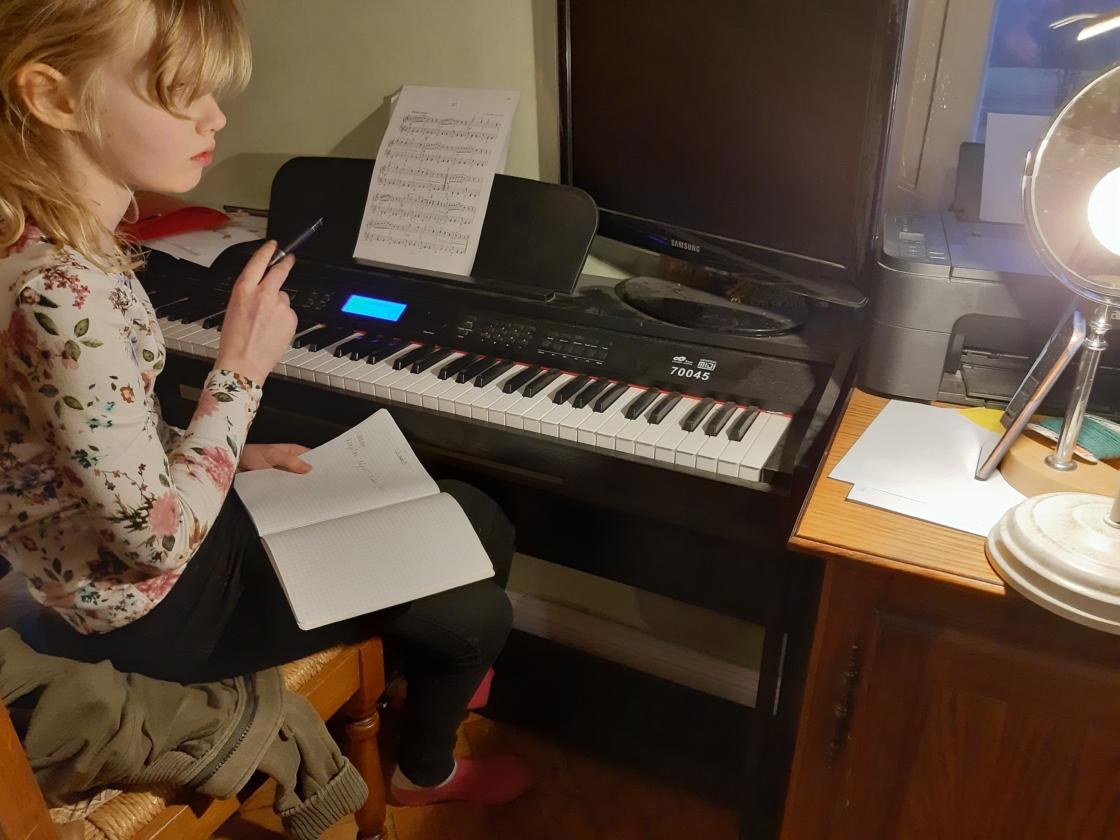 Ka muusikakoolis käib kaugõpe