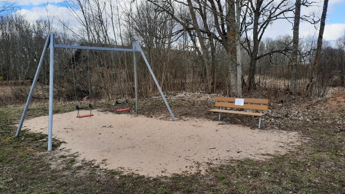 Suletud mänguväljak