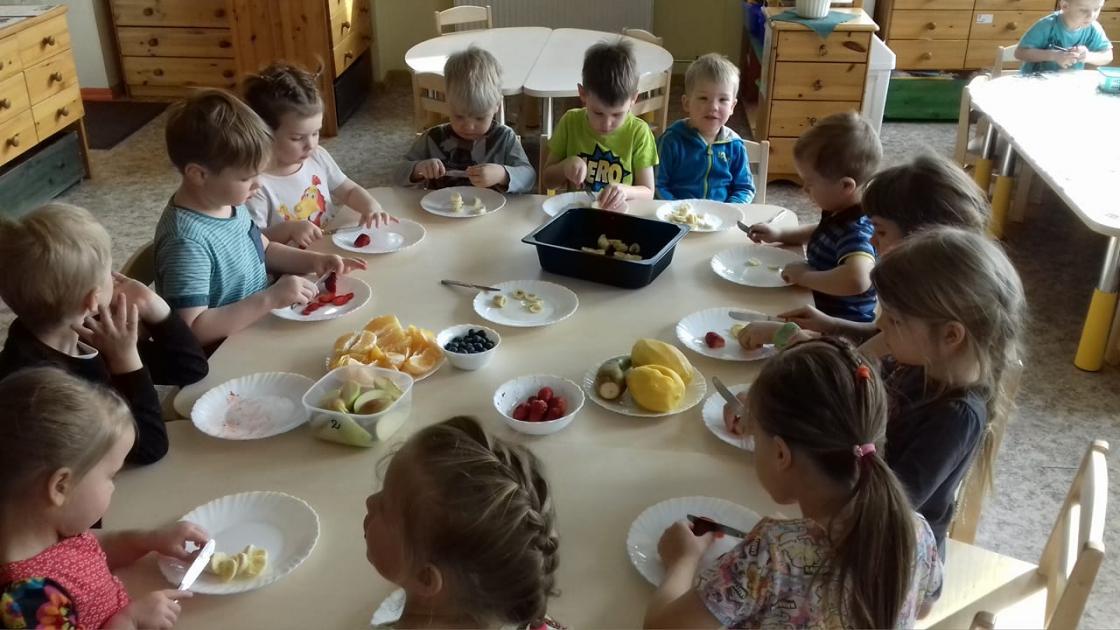 Maitsva ja tervisliku puuviljasalati meistrid