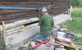 Rehielamule vundamendi ehitamine