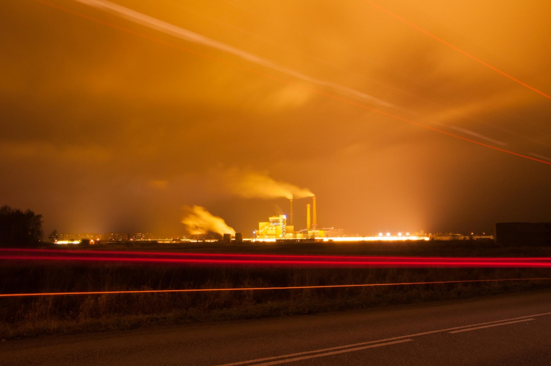 Valgusreostus Tartu lähistel