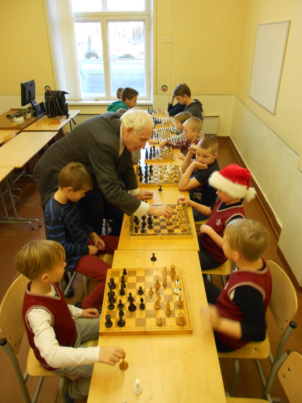 Õpetaja Leo Villeri malering Pärnu Kuninga Tänava Põhikoolis