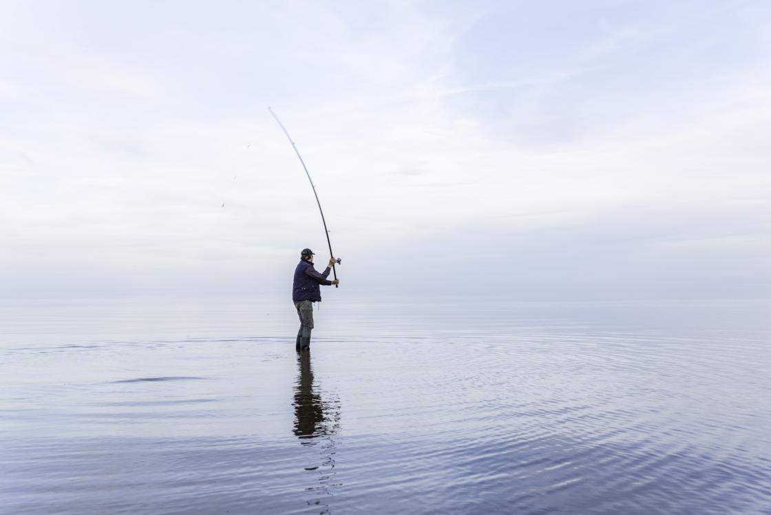Pilvepiiril kala püüdmas