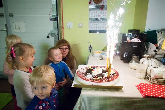 Kolmeaastase poisi sünnipäev