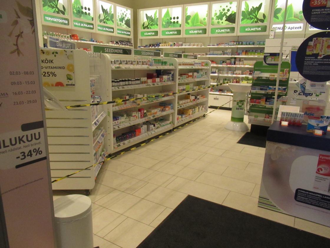 Koroonaviiruse mõju apteekides