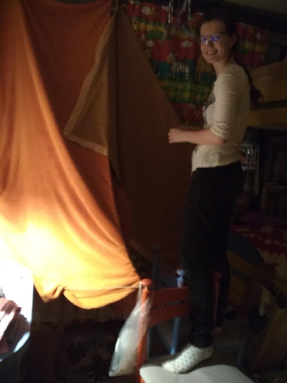 Väike koobas magamistoas