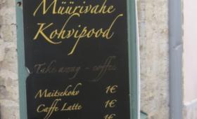 Müürivahe kohvipood