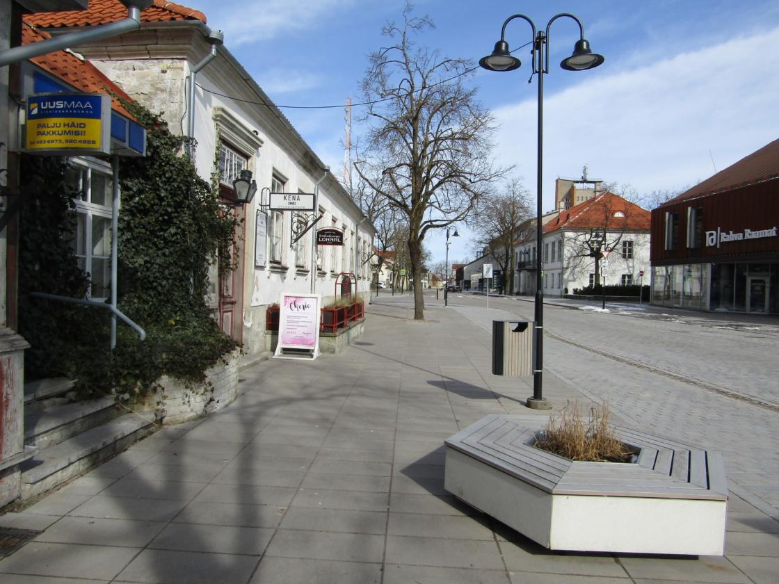 Kuressaare tuiksoon Tallinna tänav