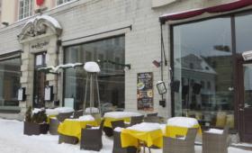 Välikohvik lumes