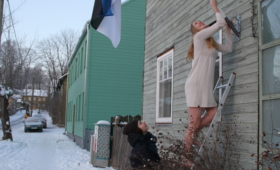 Eesti 100. Lipuheiskamine