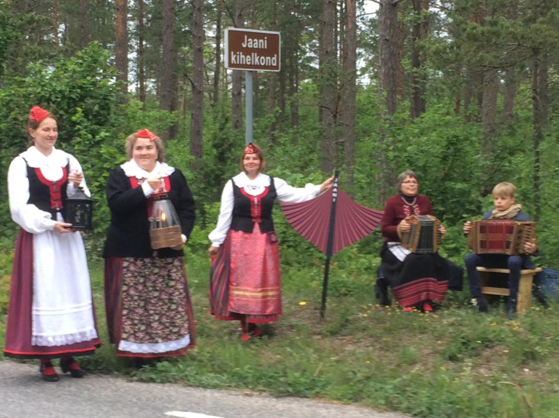 Tule tulemine Saaremaal Jaani kihelkonnas