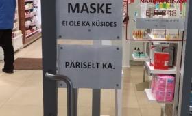 Tartu Maarjamõisa apteek: maske pole veel saabunud