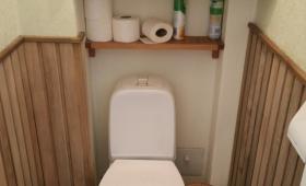 Tagasihoidlikult modernne tualett